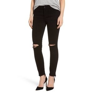DL1961 32 Black Farrow high rise insta slim jeans
